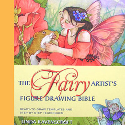 BOOK SIGNED COPY- THE FAIRY ARTISTS FIGURE DRAWING BIBLE - SOLD OUT